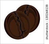coffee beans | Shutterstock . vector #130268138
