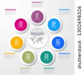 business infographics  strategy ... | Shutterstock .eps vector #1302698326