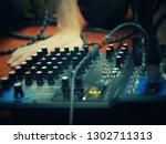 sound tuning controller....   Shutterstock . vector #1302711313