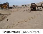 namib desert  namibia   8... | Shutterstock . vector #1302714976