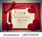 background for a greeting card... | Shutterstock . vector #1302745549