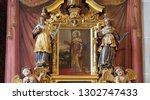 lucerne  switzerland   june 24  ...   Shutterstock . vector #1302747433