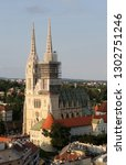 zagreb  croatia   may 31 ...   Shutterstock . vector #1302751246