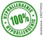 hypoallergenic 100 product... | Shutterstock .eps vector #1302774910
