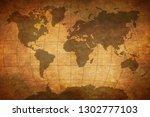 old vintage maps | Shutterstock . vector #1302777103