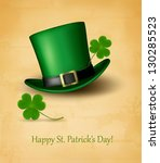 Saint Patrick\'s Day Card With...