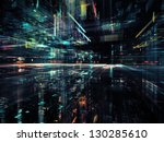 digital perspectives series.... | Shutterstock . vector #130285610