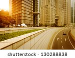 the modern building of the... | Shutterstock . vector #130288838
