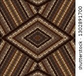 geometric background with brown ... | Shutterstock .eps vector #1302891700