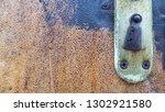 vintage door handle details... | Shutterstock . vector #1302921580