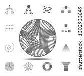 churd diagram icon. simple...