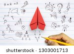 business success  innovation... | Shutterstock . vector #1303001713
