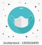 mask prevent vector illustration   Shutterstock .eps vector #1303026850
