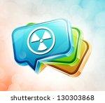 transparent label icon   Shutterstock . vector #130303868