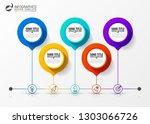infographic design template....   Shutterstock .eps vector #1303066726