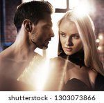 fashionable shot of an... | Shutterstock . vector #1303073866