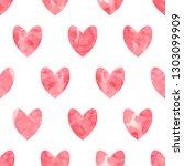 valentine's day seamless... | Shutterstock .eps vector #1303099909