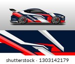 livery decal car vector  ... | Shutterstock .eps vector #1303142179