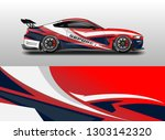 livery decal car vector  ... | Shutterstock .eps vector #1303142320