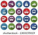 round icons set of some... | Shutterstock . vector #1303155019