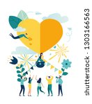 vector illustration ... | Shutterstock .eps vector #1303166563