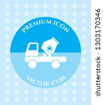 cement mixer icon for web ... | Shutterstock .eps vector #1303170346