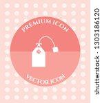 tea bag icon for web ... | Shutterstock .eps vector #1303186120