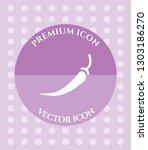 chilli pepper icon for web ... | Shutterstock .eps vector #1303186270