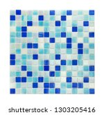 square background wall mosaic...   Shutterstock . vector #1303205416