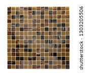 square background wall mosaic...   Shutterstock . vector #1303205506