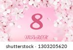 8 march international women's...   Shutterstock .eps vector #1303205620