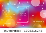 abstract holographic background ... | Shutterstock .eps vector #1303216246