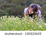 chamomile flowers | Shutterstock . vector #130323653