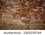 rusty metal background. old... | Shutterstock . vector #1303239769