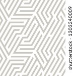 vector seamless pattern. modern ... | Shutterstock .eps vector #1303240009