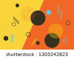 abstract background pattern... | Shutterstock .eps vector #1303242823