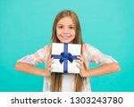 a pleasant gift. little... | Shutterstock . vector #1303243780