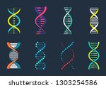 Dna  Genetic Sign  Elements An...