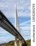 The New Road Bridge Across The...