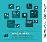 modern infographics design ... | Shutterstock .eps vector #130329989