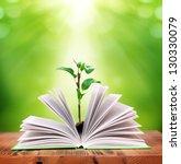 magic book | Shutterstock . vector #130330079
