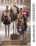 female mannequin in a shop... | Shutterstock . vector #1303328230