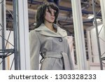 female mannequins in a stylish... | Shutterstock . vector #1303328233