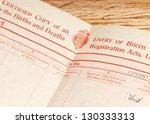 Old  Circa 1948  Blank British...
