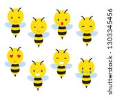 Bee Smileys Vector Illustratio...