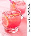 cold fresh lemonade drink close ...   Shutterstock . vector #130336664