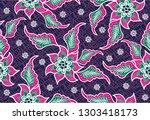 batik indonesian  is a... | Shutterstock .eps vector #1303418173