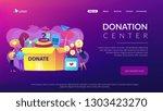 website vibrant violet landing...   Shutterstock .eps vector #1303423270
