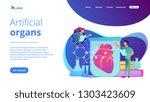 scientists growing big heart in ...   Shutterstock .eps vector #1303423609
