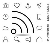 wi fi icon. simple thin line ...